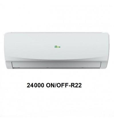 کولر گازی گرین R22 مدل H24P1T1B