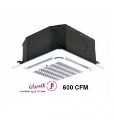 فن کویل کاستی چهارطرفه ال جی (گلدیران) مدل GLKD-600