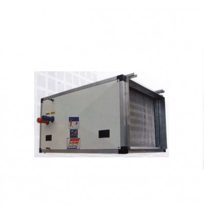 فن کویل سقفی ساران بدون کابینت بدون پلنيوم و فيلتر