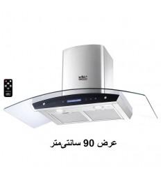هود آشپزخانه شومینه ای استیل البرز مدل SA-119