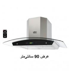 هود آشپزخانه شومینه ای استیل البرز مدل SA-105