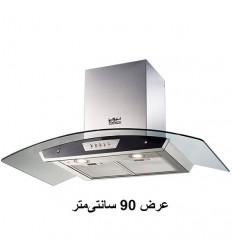 هود آشپزخانه شومینه ای استیل البرز مدل SA-102