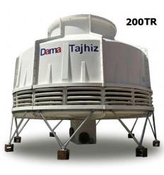 DamaTajhiz bottle type fiberglass cooling tower DT.C.200