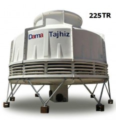 DamaTajhiz bottle type fiberglass cooling tower DT.C.225