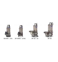 پمپ های تمام استیل تخلیه آب های صنعتی خورندهHCP-سری SF و SS