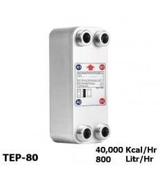 مبدل حرارتی صفحه ای کائوری سری E مدل TEP-80