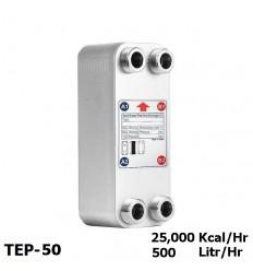 مبدل حرارتی صفحه ای کائوری سری E مدل TEP-50