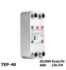 مبدل حرارتی صفحه ای کائوری سری E مدل TEP-40