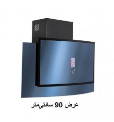 هود آشپزخانه مورب شیشه ای بیمکث مدل 2056