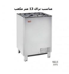 هیتر برقی سونای خشک هلو HELO سری SKLE مدل 1051