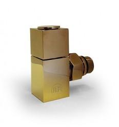 شیر رادیاتور طلایی فلت مات دکوراتیو HTM