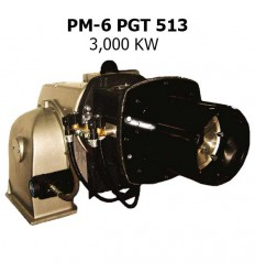 مشعل گازی پارس مشعل مدل PM-6 PGT 513