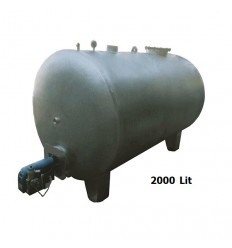 آبگرمکن صنعتی افقی 2000 لیتری دماتجهیز