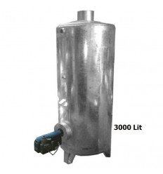 آبگرمکن صنعتی ایستاده 3000 لیتری دماتجهیز