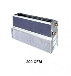 فن کویل سقفی بدون کابینت ساران مدل srfcrc-200