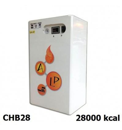 پکیج برقی دیواری دو مبدل تک فاز آلپ مدل CHB28