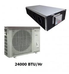 داکت اسپلیت سقفی امریکن کول 24000 مدل AC24