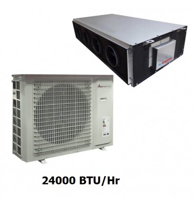 داکت اسپلیت سقفی امریکن کولد 24000 مدل AC24
