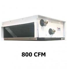 فن کویل سقفی توکار ویرا تهویه کوهسار مدل VHFU-800T7P30