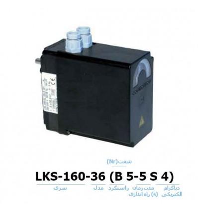 موتور دمپر هانیول - کانکترون LKS-160-36