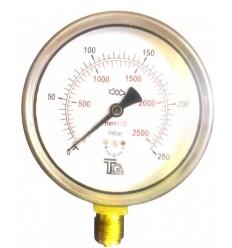 مانومتر میلیبار تی جی عمودی خشک صفحه 10سانت مدل CC