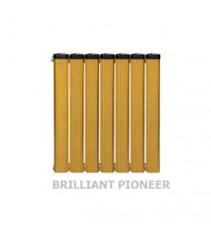 رادیاتور آلومینیومی 7 پره آنیت مدل برلیان پایونیر طلایی