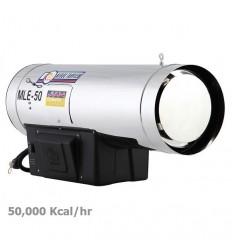 جت هیتر گازوئیلی نیرو تهویه البرز مدل MLE-50