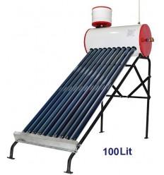 آبگرمکن خورشیدی ایلسان فلوتری 100 لیتری