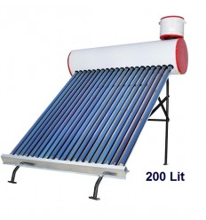 آبگرمکن خورشیدی ایلسان فلوتری 200 لیتری