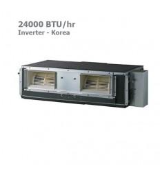 LG Inverter Ceiling Ducted Split AB-W24GM1T1