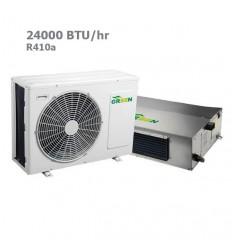 داکت اسپلیت گرین R410a معتدل GDS-24P1T1/R1