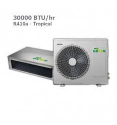 داکت اسپلیت گرین R410a حاره ای GDS-30P1T3/R1