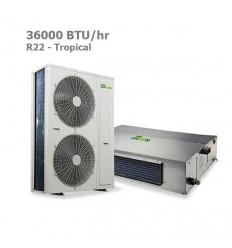 داکت اسپلیت گرین R22 حاره ای GDS-36P1T3B