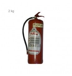 کپسول آتشنشانی پودر و گاز 2 کیلویی پرتابل پیشگام