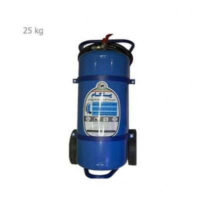 کپسول آتشنشانی آب و گاز 25 کیلویی پیشگام