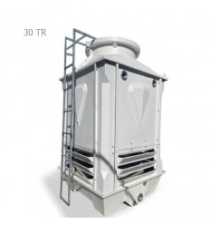 DamaTajhiz fiberglass cubic cooling tower DTC-CO 30