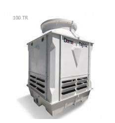 DamaTajhiz fiberglass cubic cooling tower DTC-CO 100