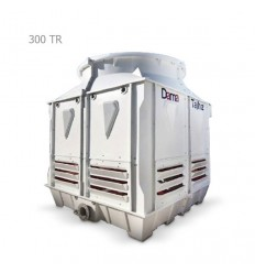 DamaTajhiz fiberglass cubic cooling tower DTC-CO 300