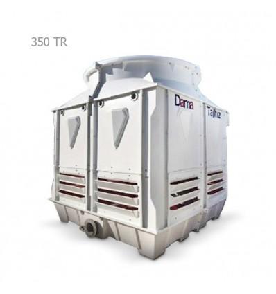 DamaTajhiz fiberglass cubic cooling tower DTC-CO 350