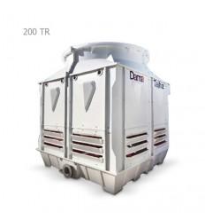 DamaTajhiz fiberglass cubic cooling tower DTC-CO 200