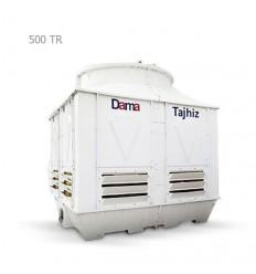 DamaTajhiz fiberglass cubic cooling tower DTC-CO 500