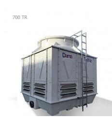 DamaTajhiz fiberglass cubic cooling tower DTC-CO 700