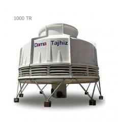 DamaTajhiz bottle type fiberglass cooling tower DT.C.1000
