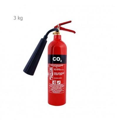کپسول آتش نشانی co2 آذرسیلندر-3kg
