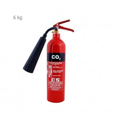 کپسول آتش نشانی co2 آذرسیلندر- 6Kg
