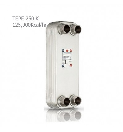 مبدل حرارتی صفحه ای کائوری سری K مدل TEP-250