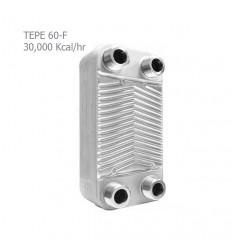 مبدل حرارتی صفحه ای کائوری سری F مدل TEP-60