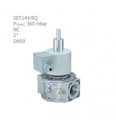 """شیر برقی گاز تدریجی ستاک دنده ای""""2 مدل SET144/SQ"""