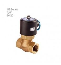 """شیر برقی بخار یونیدی (UNID) سری US سایز """"3/4"""