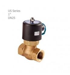 """شیر برقی بخار یونیدی (UNID) سری US سایز """"1"""